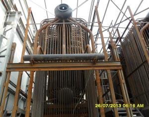 Mounting of the boiler DKVR 10/23