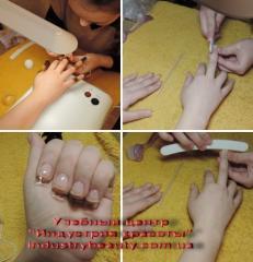 Курсы наращивания ногтей. Индустрия красоты. Херсон. Обучение и содействие в трудоустройстве.