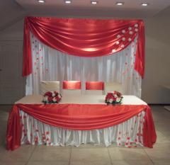 Квадратная свадебная арка или задний фон молодых
