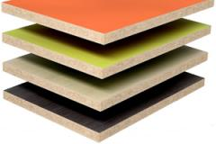 Cutting of plates of a chipboard, plywood,