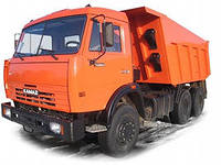 Services of the dump truck KamAZ