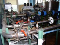 Metrological checking of heat meters