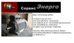 Replacement of bearings in electric motors. Repair