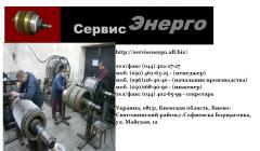 Repair of crane electric motors of the MTF series