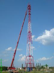 Башни телекоммуникационные - изготовление и монтаж