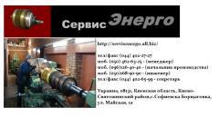 Repair of crane electric motors of the MKTH