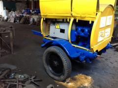 Repair of compressors screw and piston