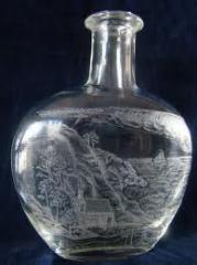 Гравировка на бутылках
