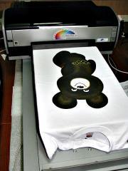 Прямая печать на тканях