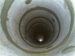 Waterproofing of wells