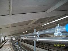 Installation of milking parlors and milk lines