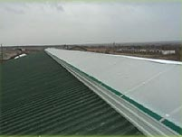 Installation of ventilating skates and air shafts