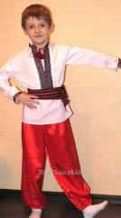 Прокат костюмов казак, украинка, цыганка, волк,