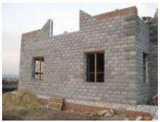 Строительство малоэтажное из термоблоков