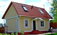 Construction services. Construction of houses from