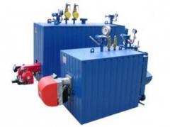 Техническое диагностирование и оценка технического состояния котлов, сосудов, трубопроводов пара и горячей воды.