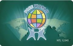 Туры, туризм Карта Free World предоставляется право БЕСПЛАТНОГО ПРОЖИВАНИЯ на двоих в четырёх-пяти звёздных отелях мира 7 дней 8 ночей далее дей
