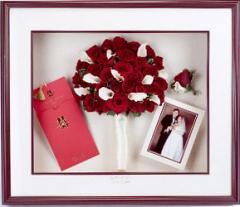 Сохранение свадебных букетов