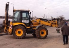 Rent of the JCB 4cx excavator