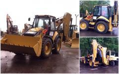 Rent of the Caterpillar 434F excavator