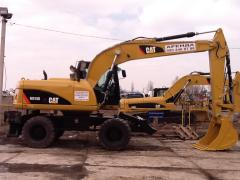 Rent of the Caterpillar M 315D excavator