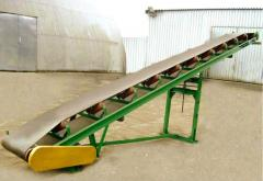 Production of small-size and mobile conveyors