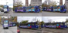 Advertizing on transport in Kiev and regions of