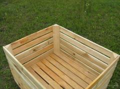 Производство деревянных овощных ящиков, ...