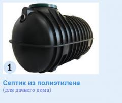 Монтаж септиков автономной канализации