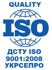 Сертификация ДСТУ ISO 9001:2009 (УКРСЕПРО) в государственной системе