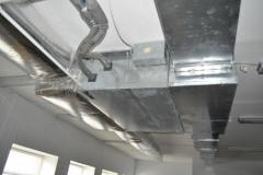 Repair and service of ventilating systems.