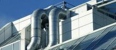 Installation and service of central airs and