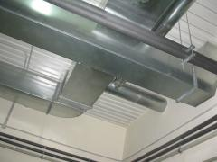 Installation of ventilating systems.