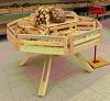 Изготовление торгового оборудования из натуральной древесины под заказ