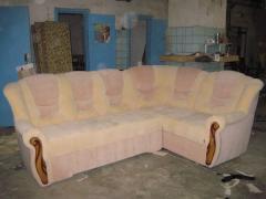 Ремонт мяких меблів.