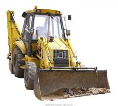 Rent the Excavator JCB 3-CX, Case 580-SR in
