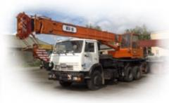 The truck crane for rent in Vinnytsia, Zhytomyr,