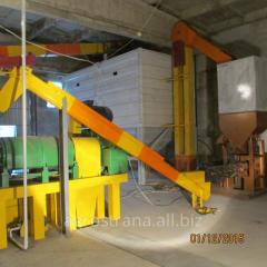 Монтаж оборудования по переработке сои