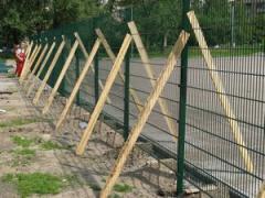 Монтаж ограждений, калиток и ворот