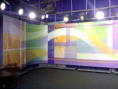 Оформление телевизионных студий