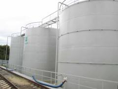 Изготовление и монтаж резервуаров на месте