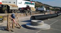 Строительство внешних сетей и водопроводов
