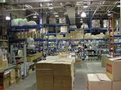 Rent of a warehouse for office furniture and the equipment under responsible storage