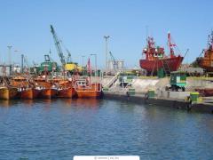 Погрузка и разгрузка в портах