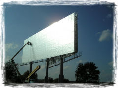 Production of billboards Megabord of 36х12 m