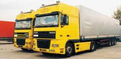 Transport services in the territory of Ukraine