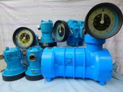 Checking of counters of liquid, ShZhU-25,