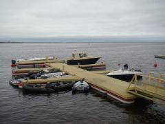 Aftersales service of moorings, marines, floating