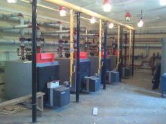 Ремонт и сервисное обслуживание газовых, твердотопливных, электрических котлов