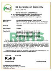European certificate of SE. European quality mark,
